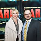 Nick Basile and Whitney Able at an event for Dark (2015)