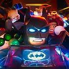 Ralph Fiennes, Will Arnett, Michael Cera, and Rosario Dawson in The Lego Batman Movie (2017)