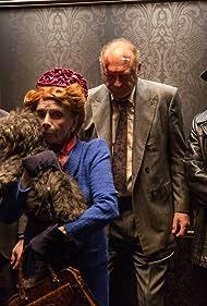 Donal Logue, John Doman, Peter Scolari, and Ben McKenzie in Gotham (2014)
