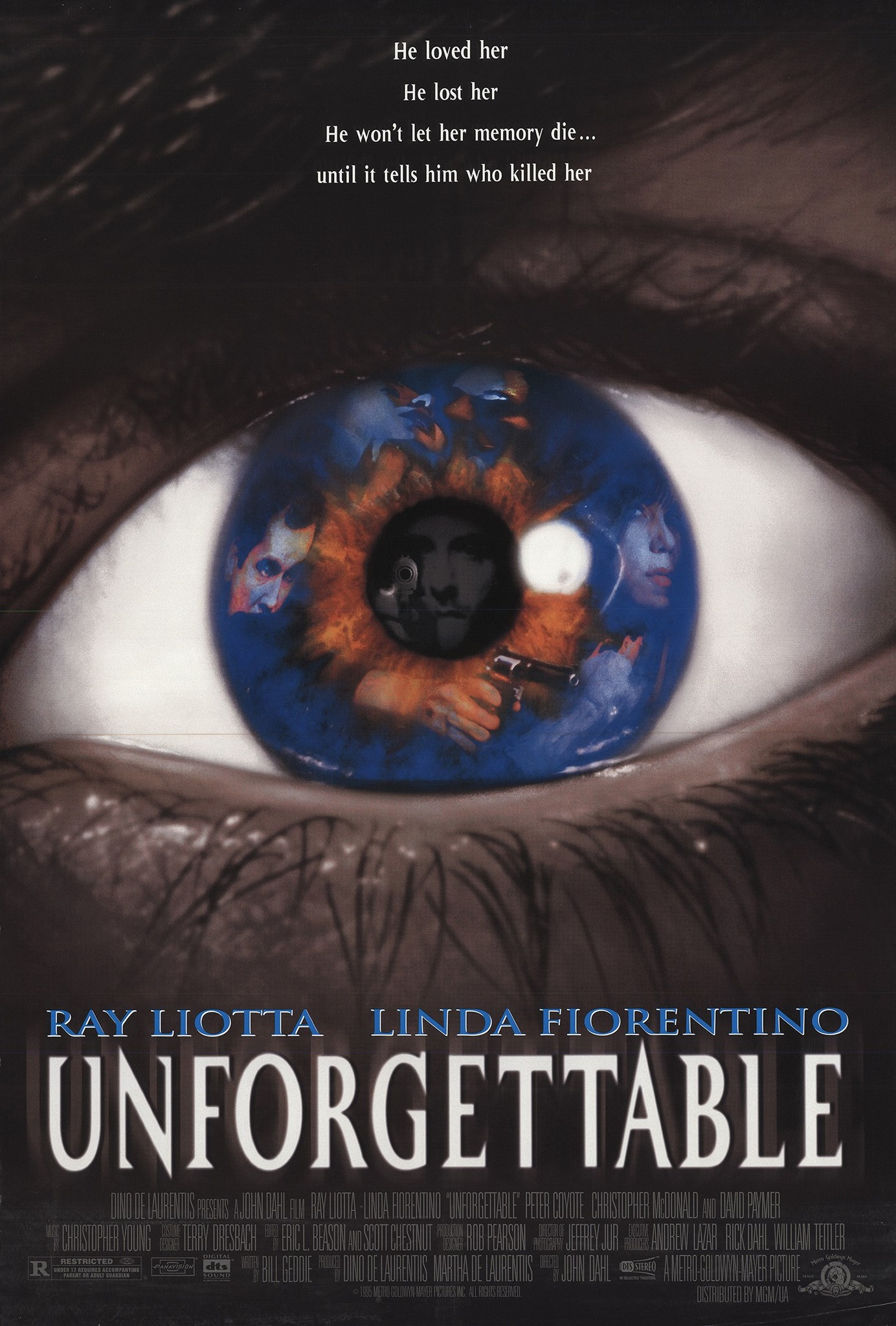 Linda Fiorentino and Ray Liotta in Unforgettable (1996)