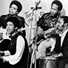 """Aretha Franklin and her back-up group on """"Room 222""""1972** I.V.M. Black and White, Band, Entertainment mptv_2018_May_to_August_Update"""