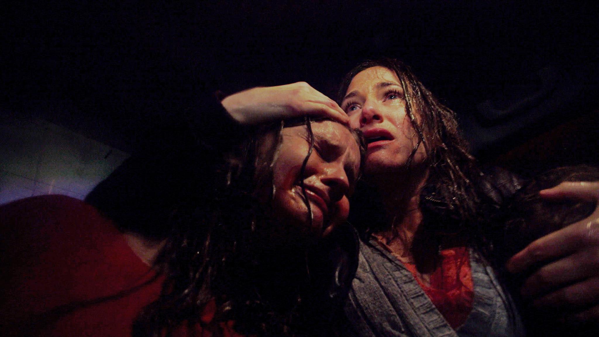 Kathryn Hahn and Olivia DeJonge in The Visit (2015)