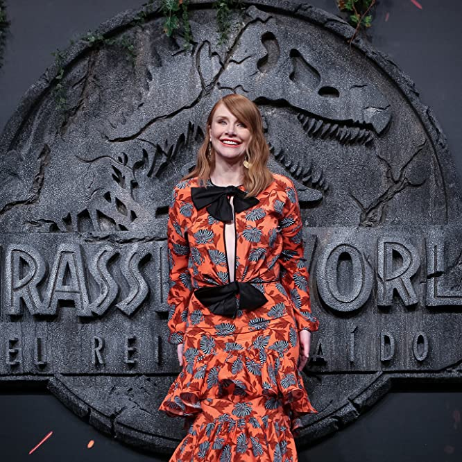 Bryce Dallas Howard at an event for Jurassic World: Fallen Kingdom (2018)