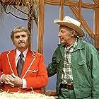 Hugh Brannum and Robert Keeshan in Captain Kangaroo (1955)