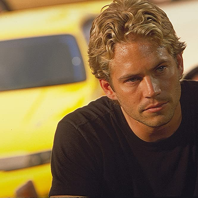 Paul Walker in The Fast and the Furious (2001)