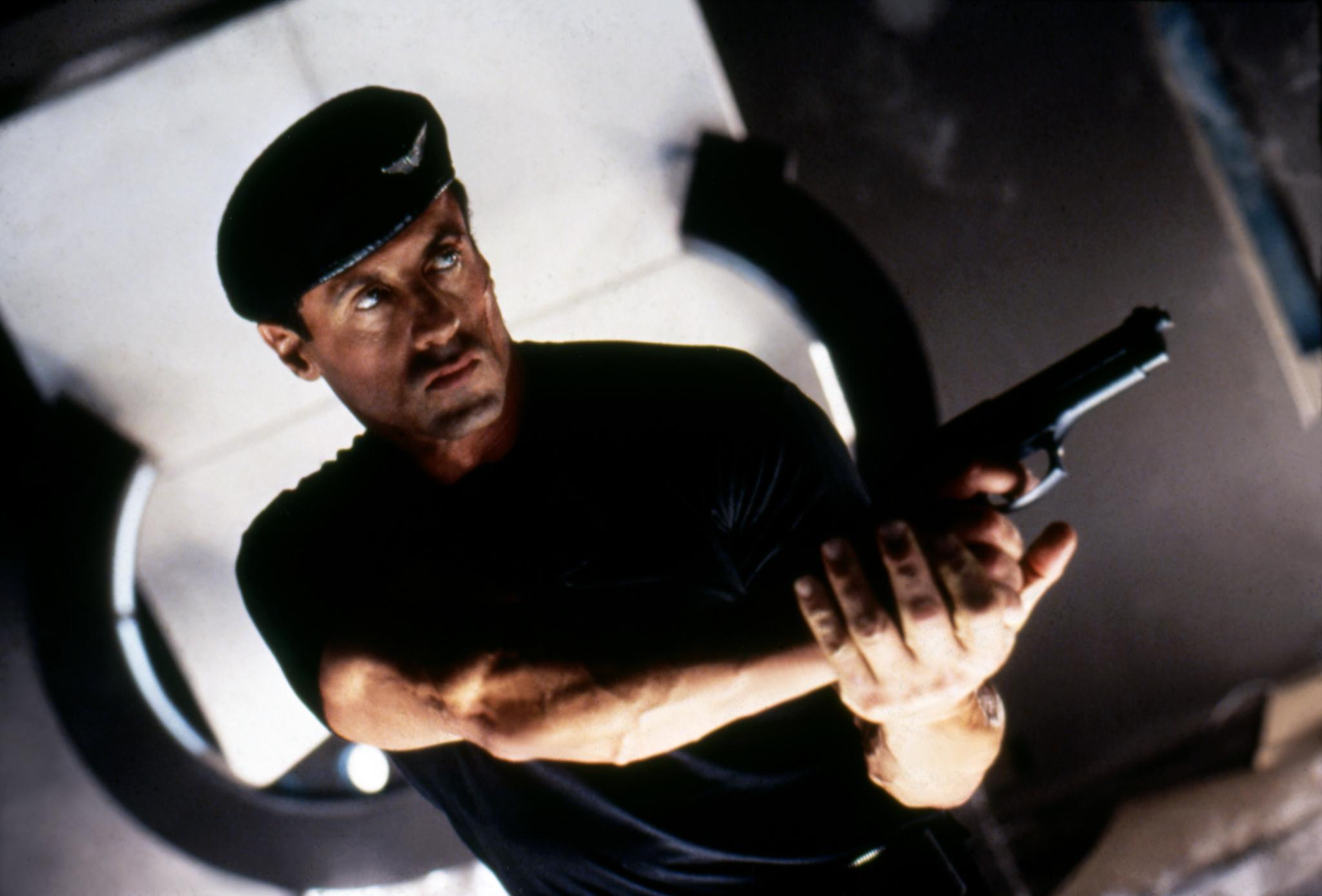 Sylvester Stallone in Demolition Man (1993)