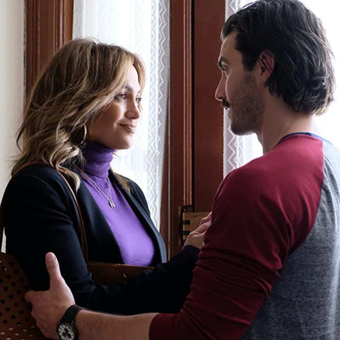 Jennifer Lopez and Milo Ventimiglia in Second Act (2018)