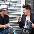 Jonathan Rhys Meyers and Derrick Borte in London Town (2016)