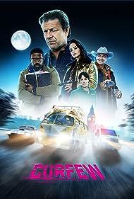 Sean Bean, Billy Zane, Phoebe Fox, Rose Williams, and Ike Bennett in Curfew (2019)