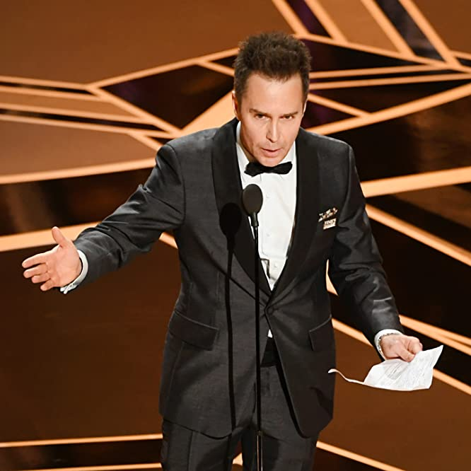 Sam Rockwell at an event for The Oscars (2018)