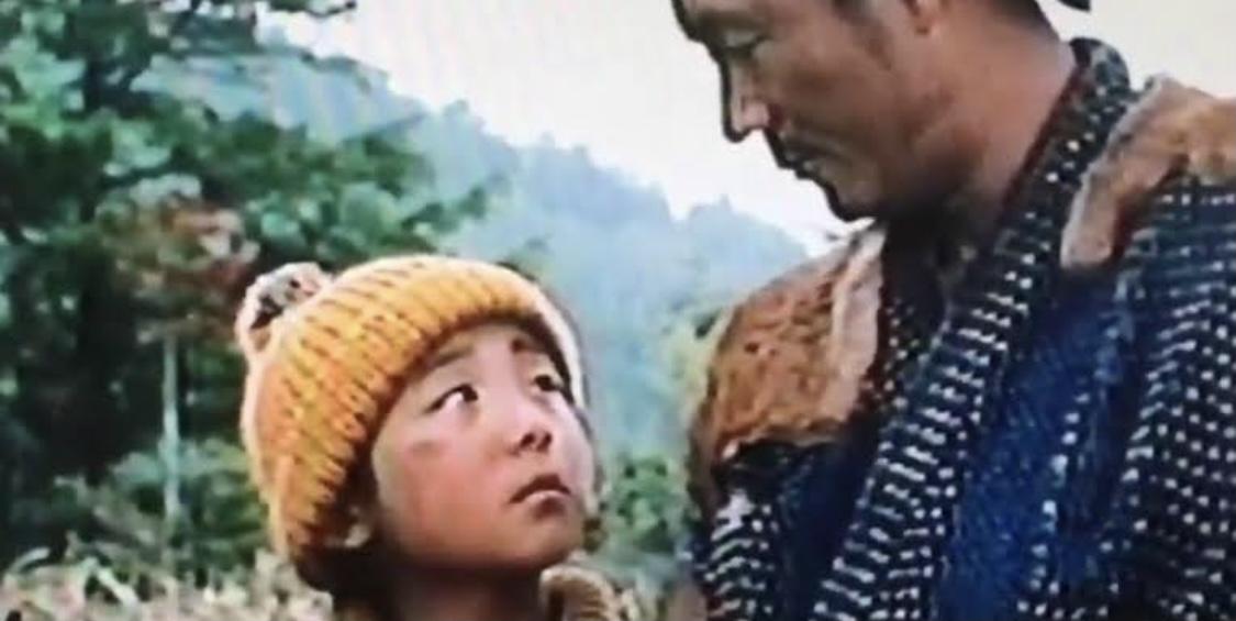 Takeshi Kitano and Issey Takahashi in Hoshi wo tsugu mono (1990)