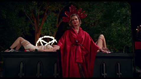 Danica Ross (Rebecca Romijn) will do anything to make sure she stays the leader of a powerful wealthy Satanic coven, including sacrifice her own daughter.