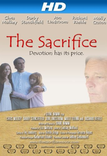 Chris Mulkey and Darby Stanchfield in The Sacrifice (2009)
