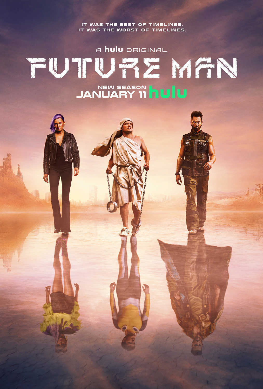 ATEITIES ŽMOGUS (2 Sezonas) / FUTURE MAN Season 2