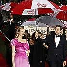 Joshua Jackson and Diane Kruger at an event for Golden Globe Awards (2010)