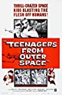 Teenagers From Outer Space - The Sci-Fi Schlock Classic, Uncut! (1959) Poster