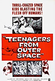 Teenagers from Outer Space Poster
