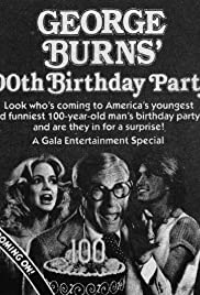 George Burns' 100th Birthday Party Poster
