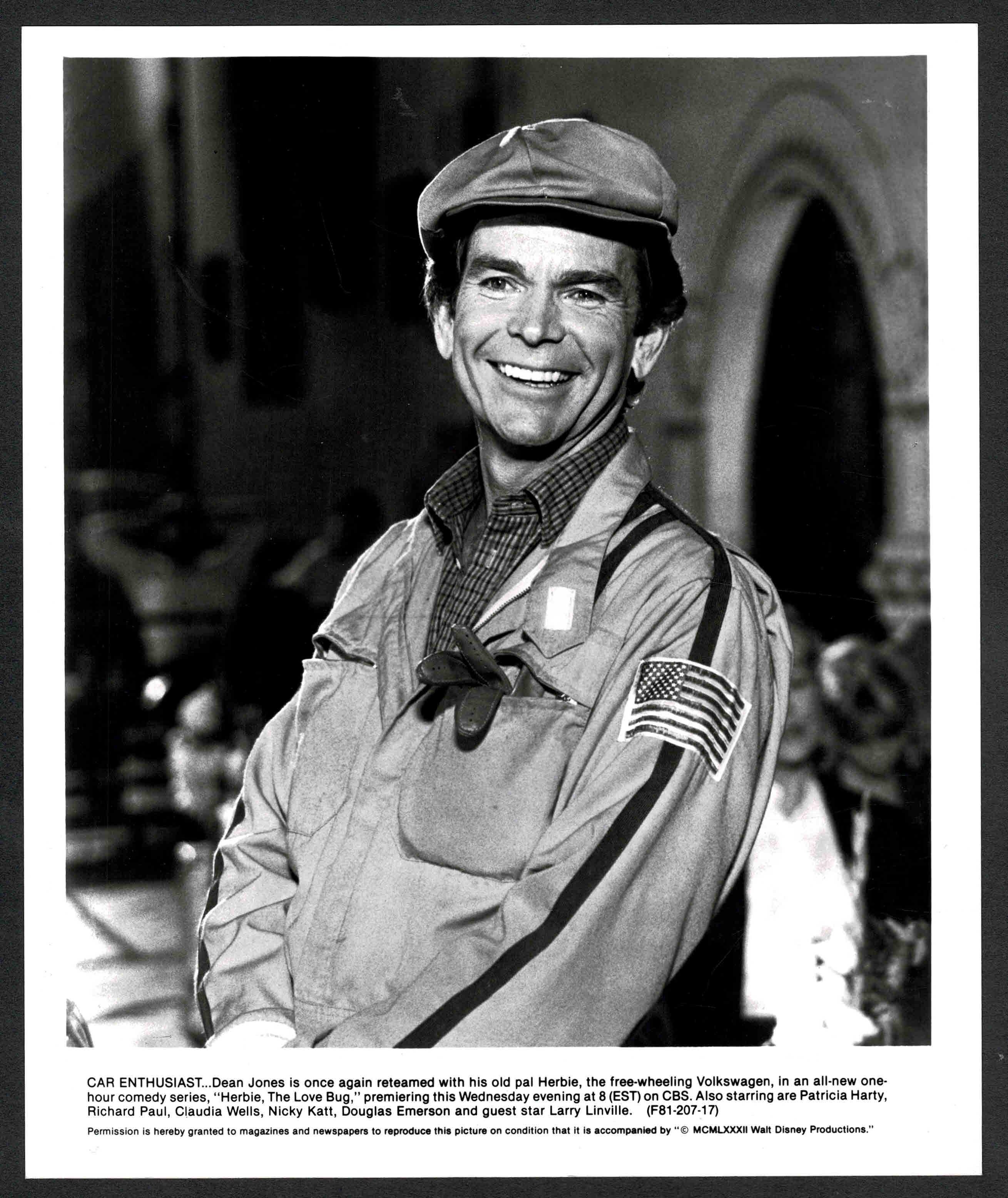 Dean Jones in Herbie, the Love Bug (1982)