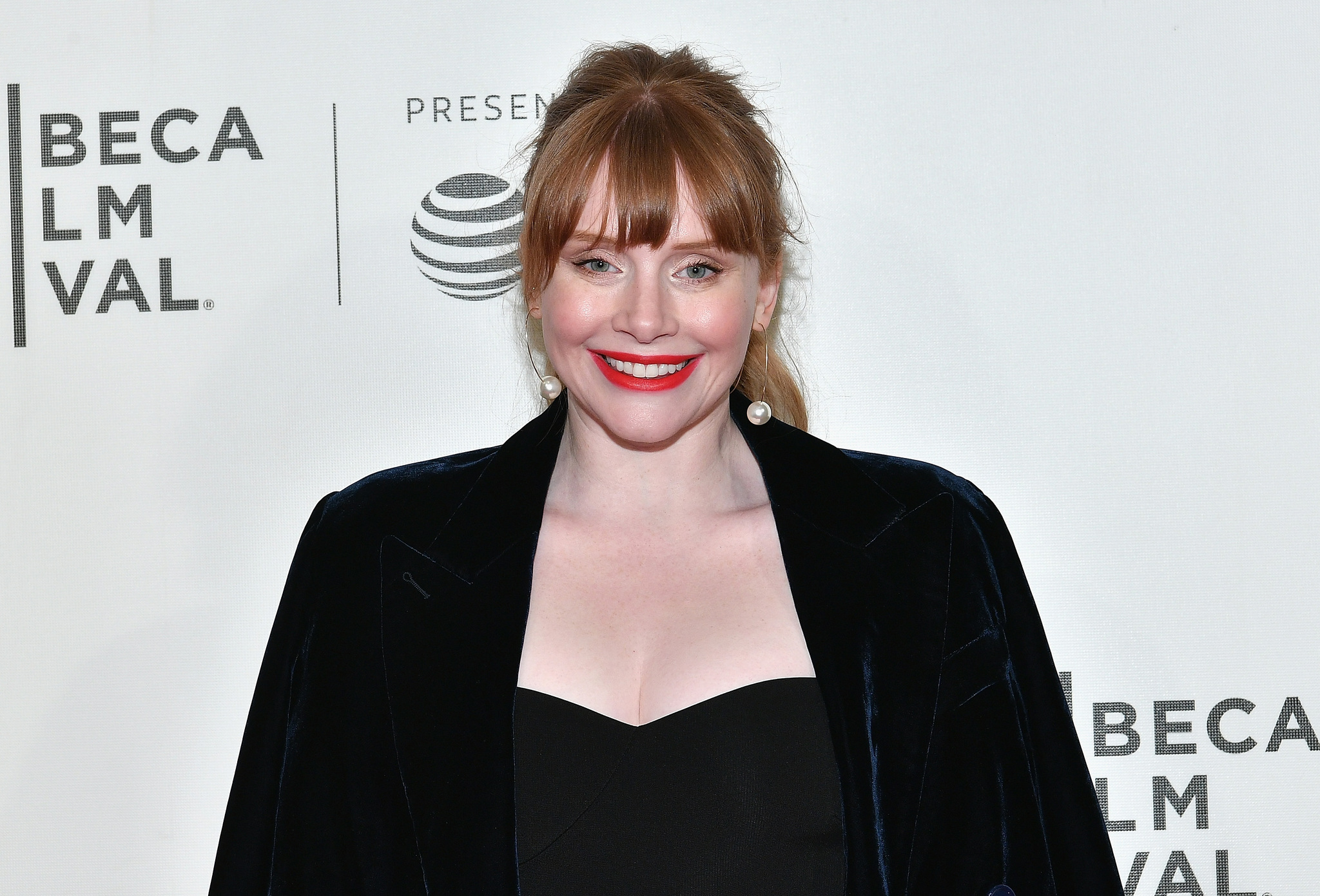 Bryce Dallas Howard at an event for Genius (2017)