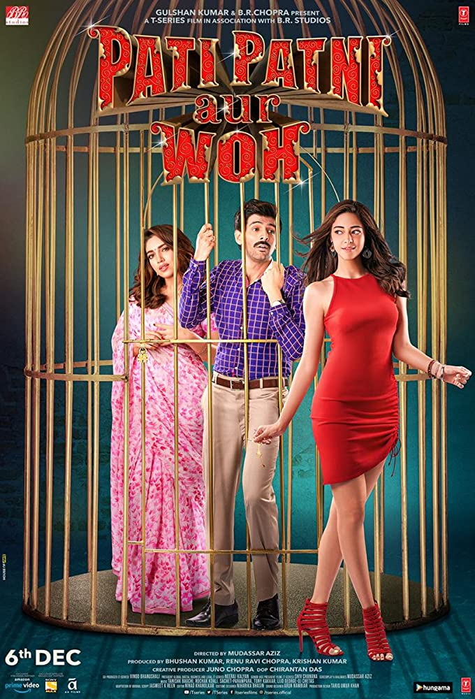 Pati Patni Aur Woh (2019) Hindi PreDVD