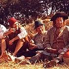 Buster Larsen, Poul Thomsen, and Torben Zeller in Jeppe på bjerget (1981)