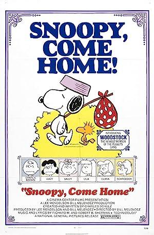Where to stream Snoopy Come Home