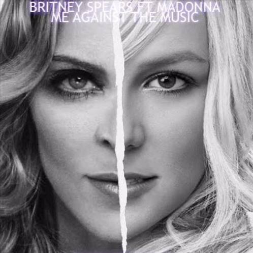 Madonna and Britney Spears in Britney Spears Feat. Madonna: Me Against the Music (2003)