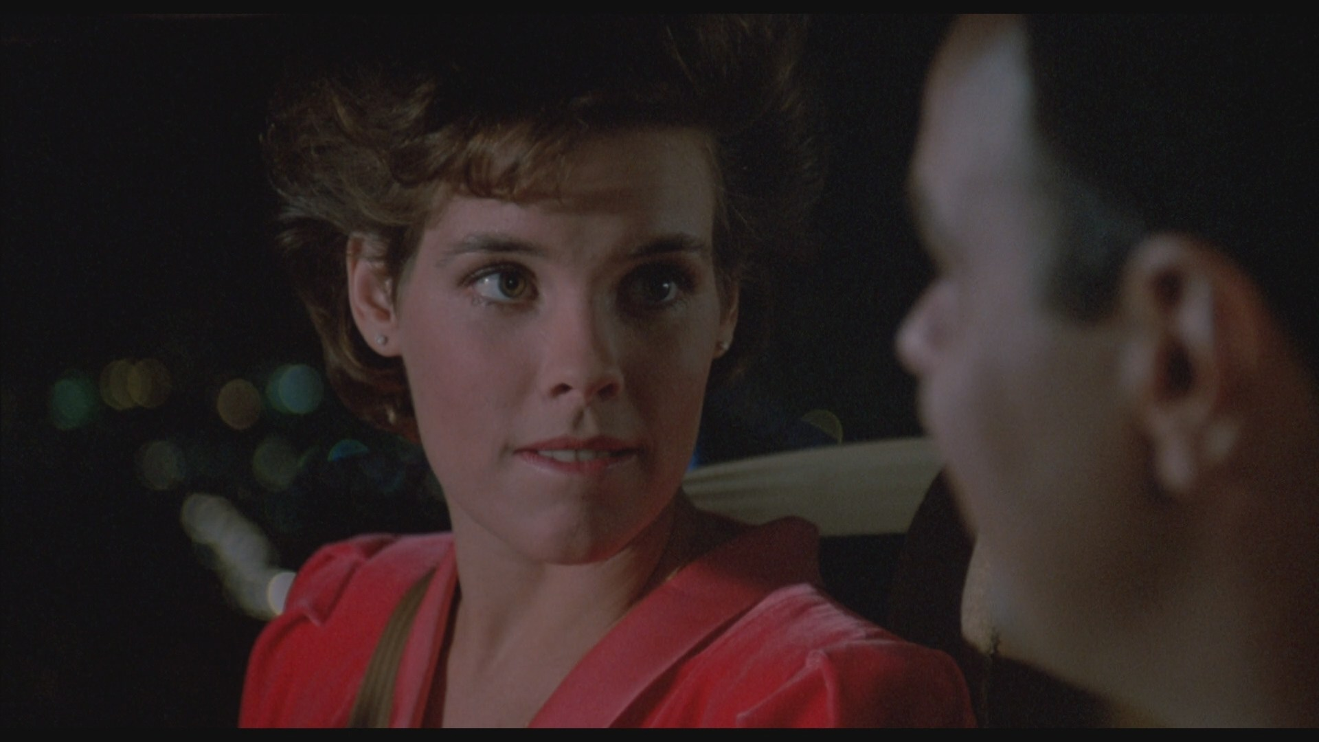 Dan Aykroyd and Alexandra Paul in Dragnet (1987)