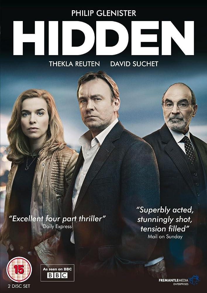 Philip Glenister, Thekla Reuten, and David Suchet in Hidden (2011)