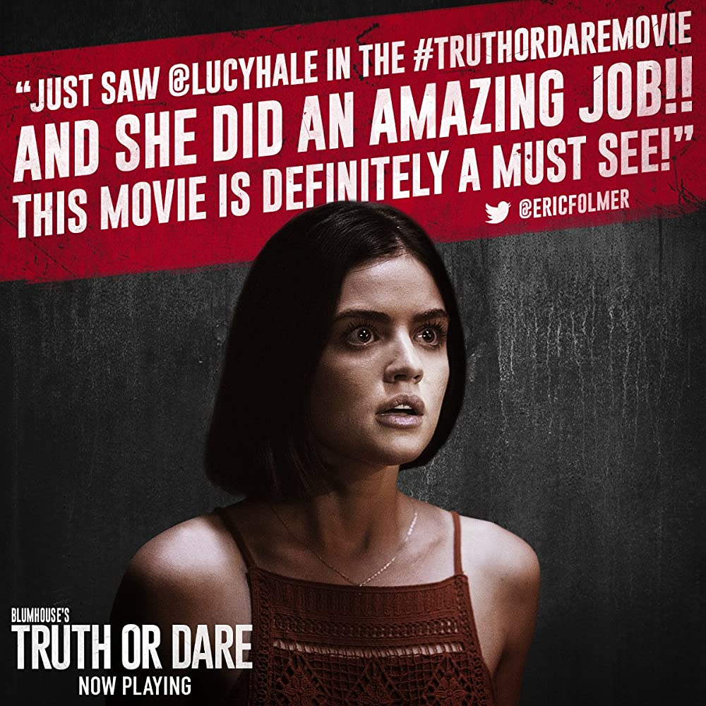 Truth or Dare 2018 Full Movie English 720p HDTS x264 500MB