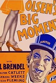 Olsen's Big Moment Poster