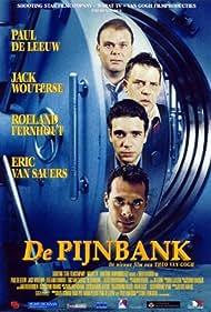 Roeland Fernhout, Dave Schram, and Eric van Sauers in De pijnbank (1998)