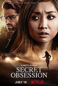 Brenda Song and Mike Vogel in Secret Obsession (2019)