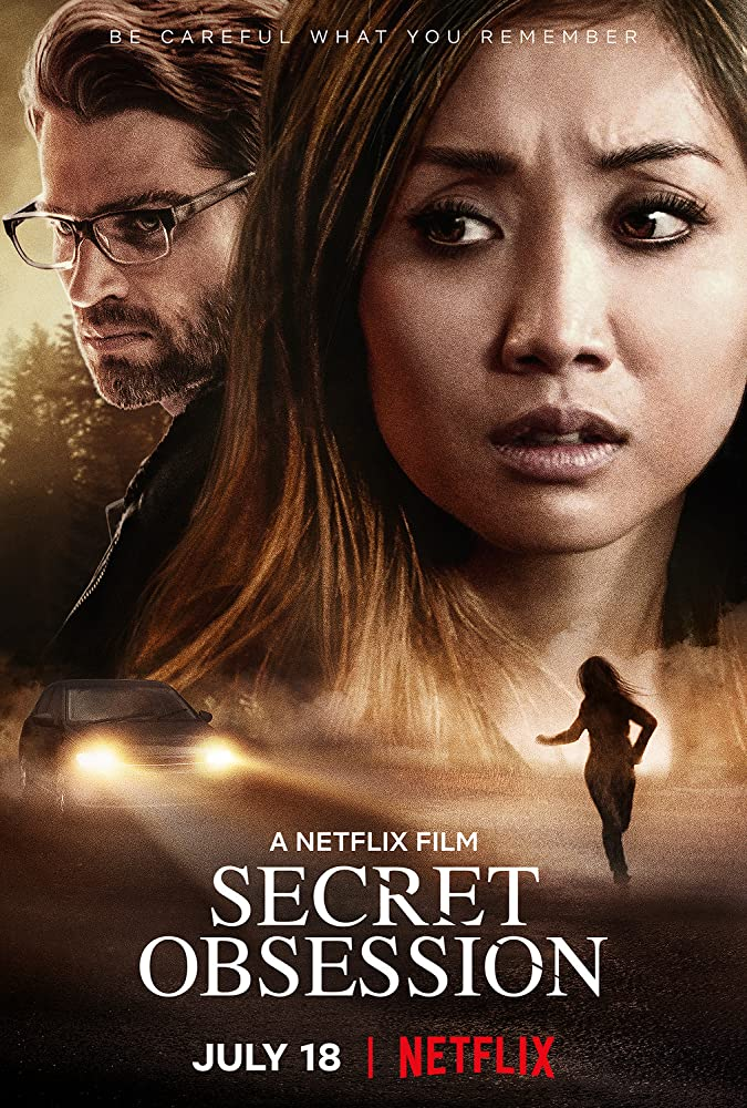Brenda Song and Mike Vogel in Secret Obsession (2019)