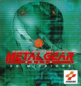 Metal Gear Solid: VR Missions Hideo Kojima