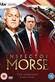 John Thaw and Kevin Whately in Inspector Morse (1987)