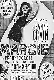 Jeanne Crain and Glenn Langan in Margie (1946)