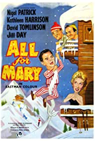 Jill Day, Leo McKern, Nigel Patrick, and David Tomlinson in All for Mary (1955)