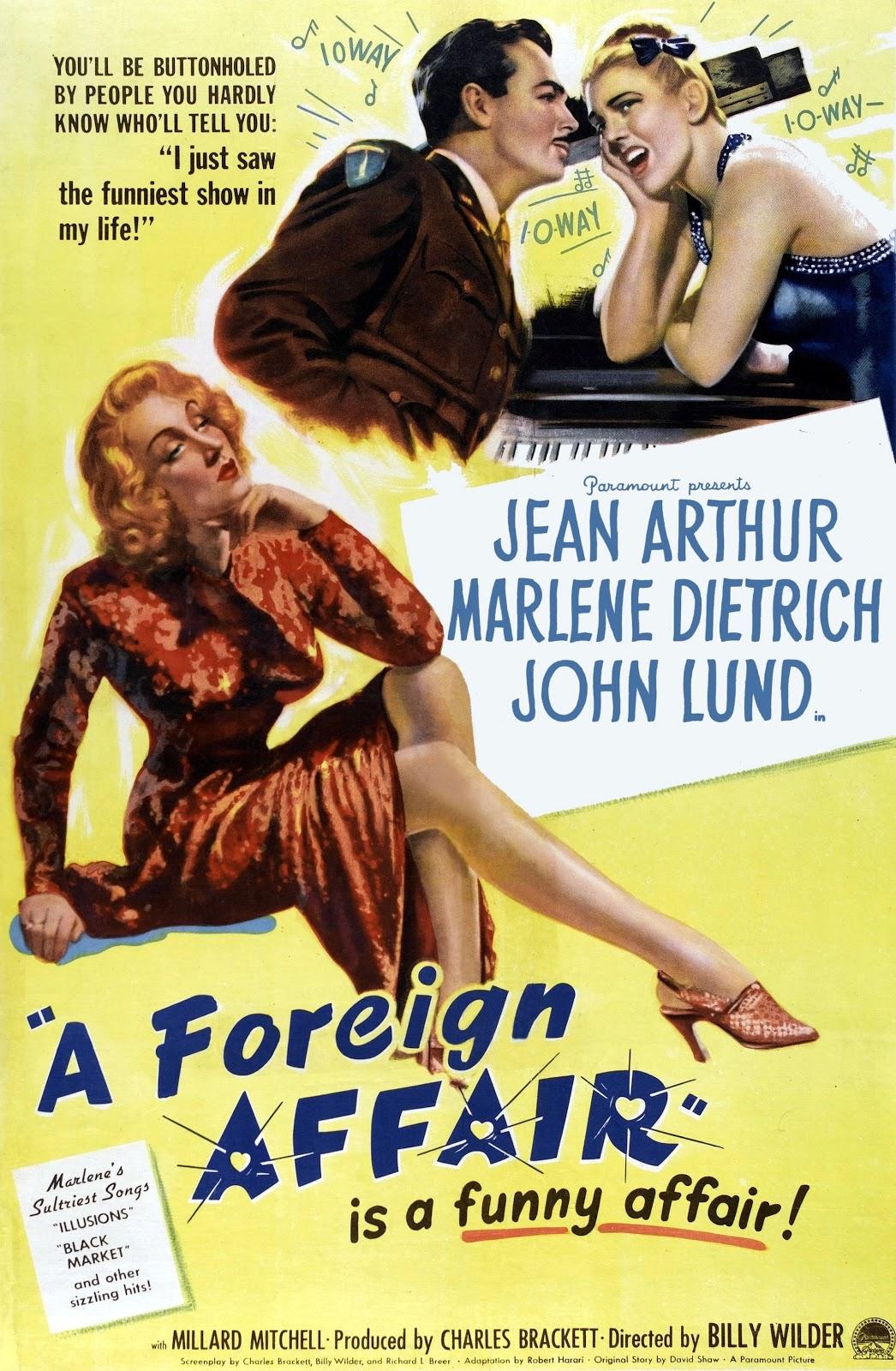 A Foreign Affair (1948) - IMDb