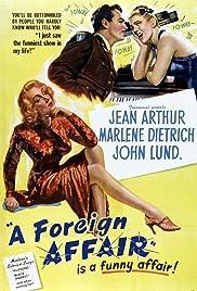 A Foreign Affair Poster