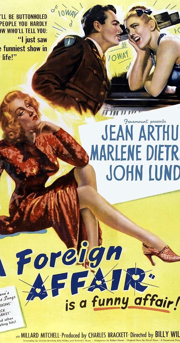 Subtitle of A Foreign Affair