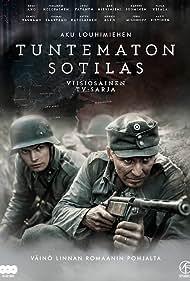 Eero Aho and Johannes Holopainen in Tuntematon sotilas (2018)