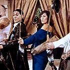 Jimmy Fagg, Al Pillay, Fiona Richmond, and Ron Tarr in Eat the Rich (1987)