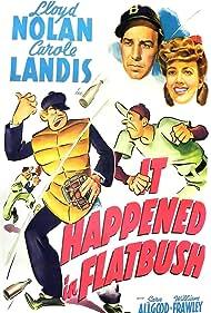 Carole Landis and Lloyd Nolan in It Happened in Flatbush (1942)