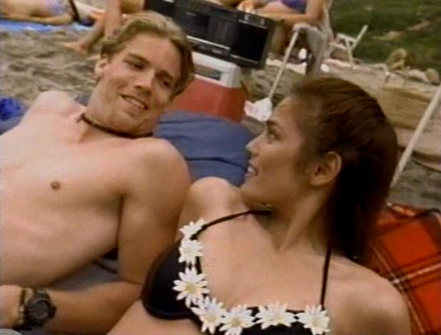 Tim Griffin and Terri Ivens in Dead at 21 (1994)
