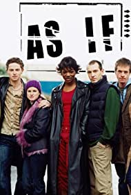 Paul Chequer, Caroline Chikezie, Emily Corrie, Jemima Rooper, Ben Waters, and Orlando Wells in As If (2001)