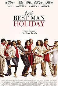 Nia Long, Monica Calhoun, Morris Chestnut, Taye Diggs, Terrence Howard, Sanaa Lathan, Melissa De Sousa, Regina Hall, and Harold Perrineau in The Best Man Holiday (2013)