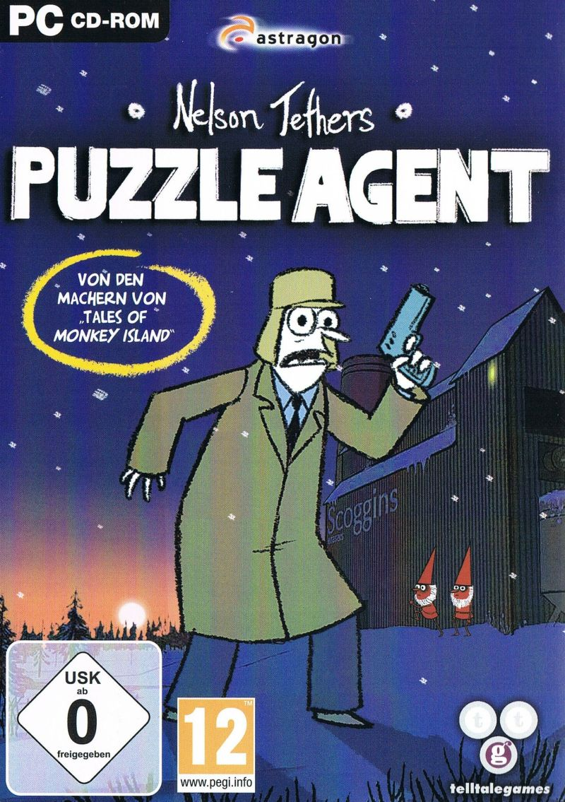 Nelson Tethers: Puzzle Agent (Video Game 2010) - IMDb