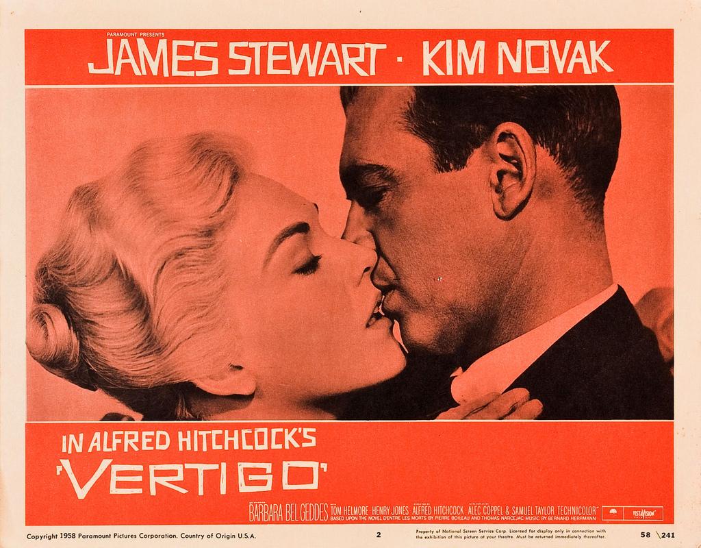 Vertigo 1958-ის სურათის შედეგი